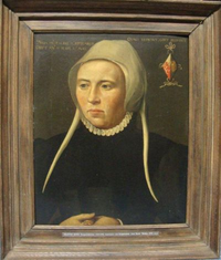 Portrait of Balich Occo Pompeiusdochter, wife of Joost Buijck