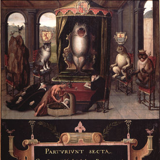 Allegory of the Judicial Murder of Johan van Oldenbarneveldt
