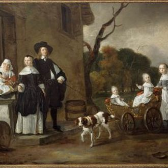 Portrait of the Van Wijkersloot Family